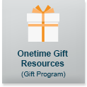 Onetime Gift Resources Category (Gift Program)