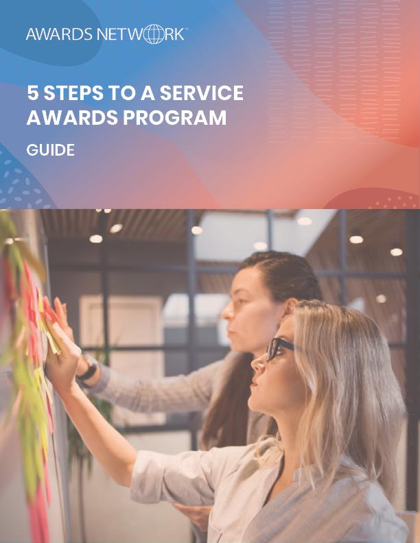 5 steps to a service awards program